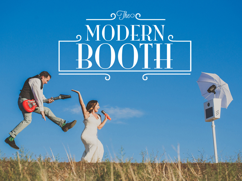 Temecula Photo Booth - Modern Booth