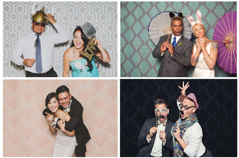 Photo Booth Backdrop Selections